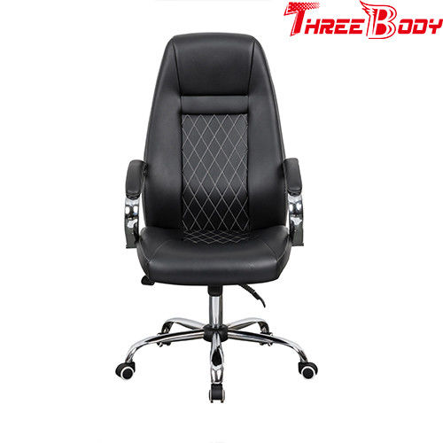 Conference / Executive Racing Office Chair High Density Foam Seat Height Lifting Function